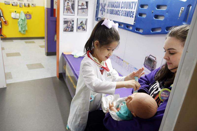 Iowa Children's Museum's updated hospital exhibit reflects changes in health care