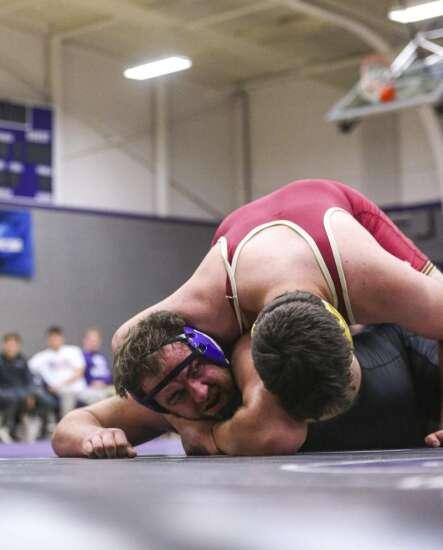 Photos: Cornell College wrestling hosts Coe College