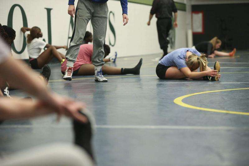 Wrestling is an Iowa obsession. But where are the girls?