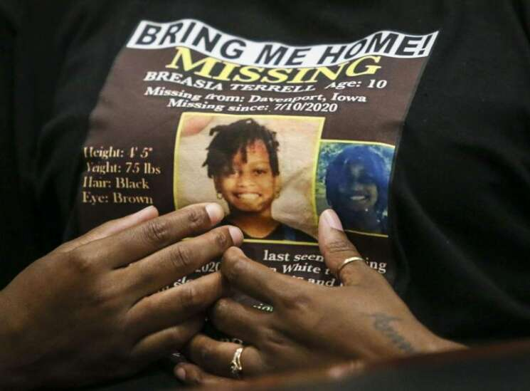 Remains are those of missing 10-year-old Breasia Terrell
