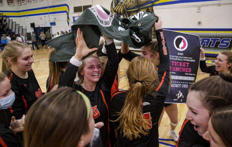 Springville superior in a 1A regional volleyball final sweep of Belle Plaine