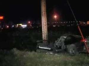 Teen crashes stolen car into pole
