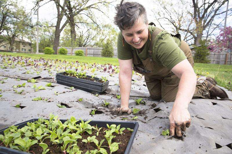Veteran sees efforts to provide hungry with locally grown produce as a mission
