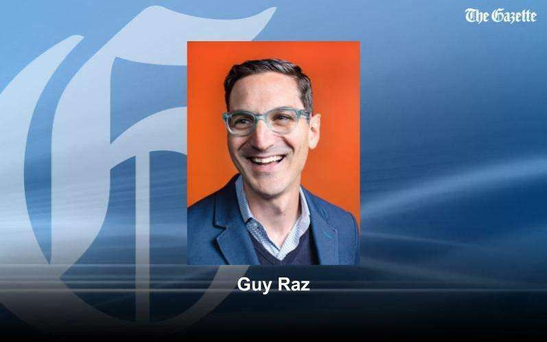 Guy Raz looks for human stories behind the businesses, will speak Thursday at Cedar Rapids virtual event