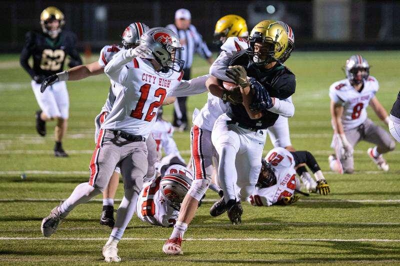 Photos: Iowa City High vs. Iowa City West, Class 4A Iowa high school football second round
