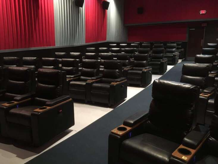 Collins Road Theatres reopens soon with recliners, COVID filters in air system