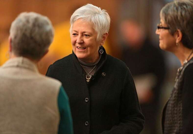 Firm says retired University of Iowa President Mason won't play role in UNI search