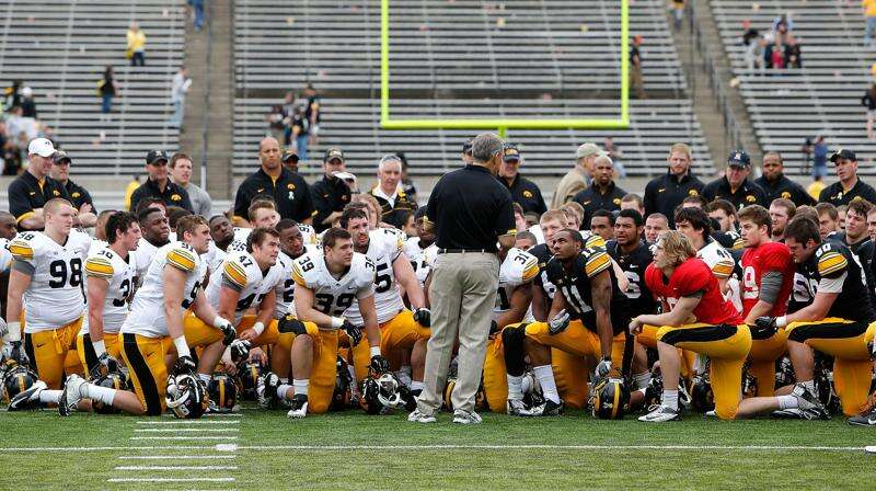 Iowa strength coach Chris Doyle offers a defense on Twitter; Kirk Ferentz talks upcoming review of the strength program