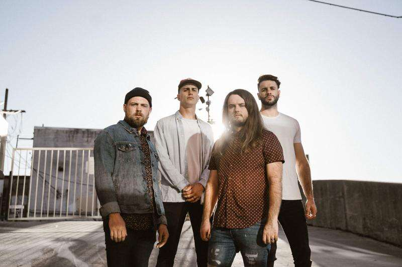 Christian-metal band Fit for a King headlining four-band concert at the Blue Moose Tap House