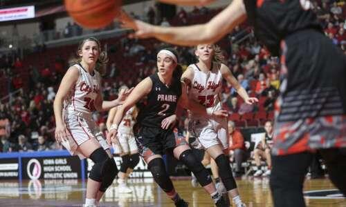 Photos: Cedar Rapids Prairie vs. Iowa City High, Iowa Class…