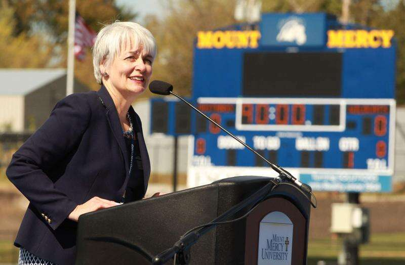 Mount Mercy president plans to leave next year