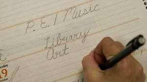 Cursive handwriting no longer stressed at Eastern Iowa schools