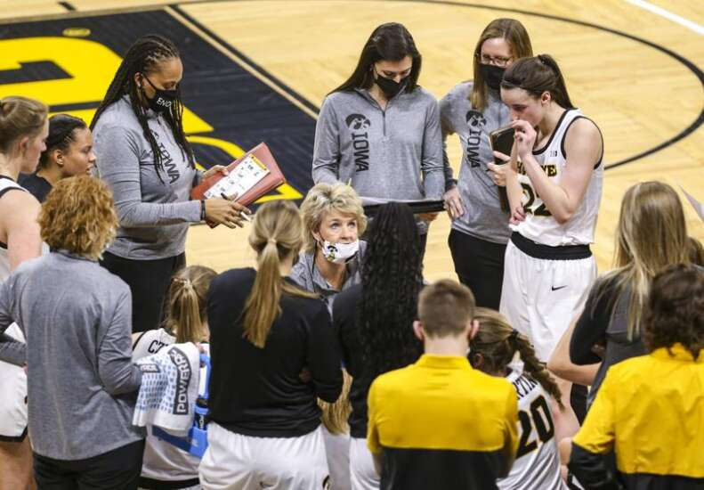 Iowa Hawkeyes figure to be a 5 or 6 seed in NCAA women's basketball tournament