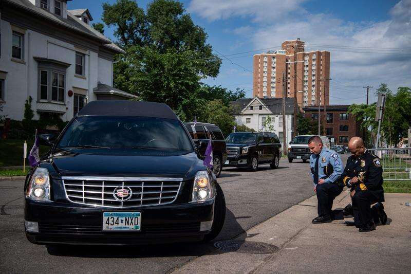 Sharpton decries oppression of black Americans at George Floyd's memorial