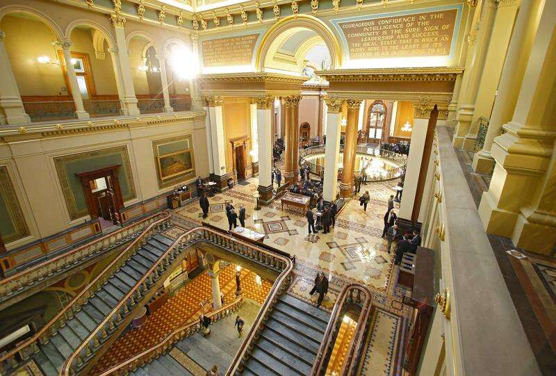 Iowa voter ID election bill spurs long debate at Statehouse