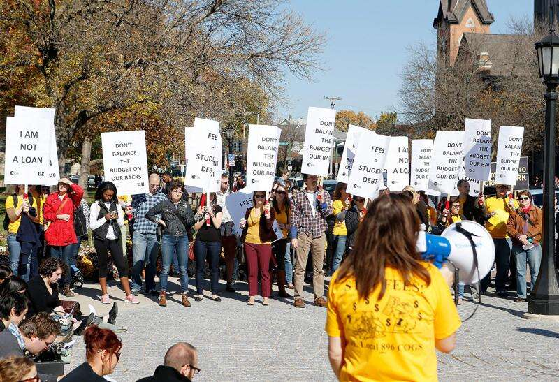Student protesters: 'Stop the Board of Regents in their tracks'