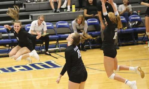 Linn-Mar connection a key to Kirkwood volleyball success
