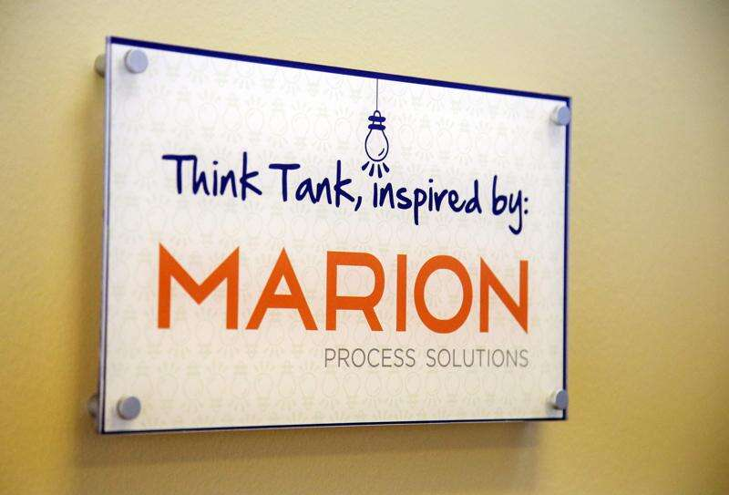 Co-working space allows for collaboration in Marion