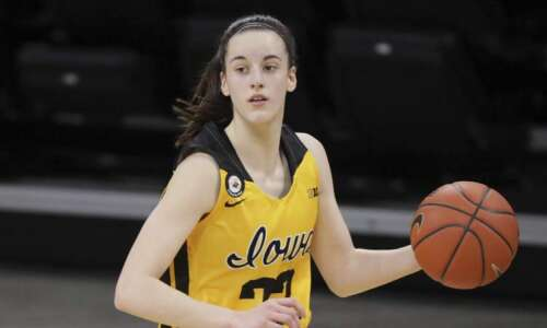 Iowa's Caitlin Clark shares national freshman of the year honor
