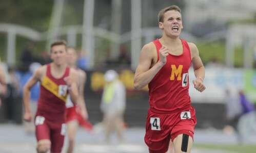 Myles Bach will finish high school running career at Center…
