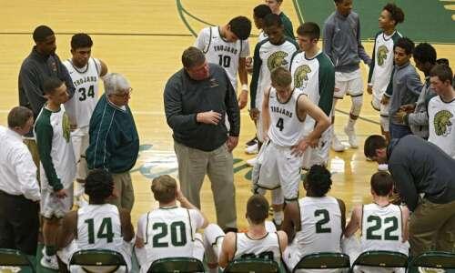 Friday's high school basketball roundup: Iowa City West ties state…