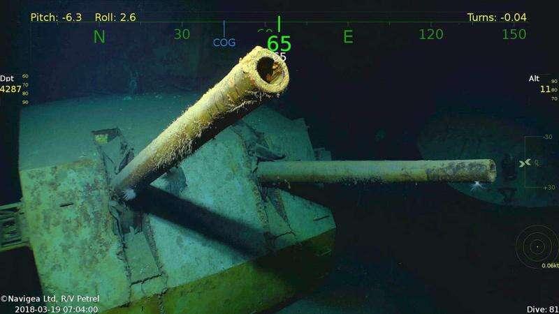 Discovery of World War II wreckage bittersweet for Sullivans