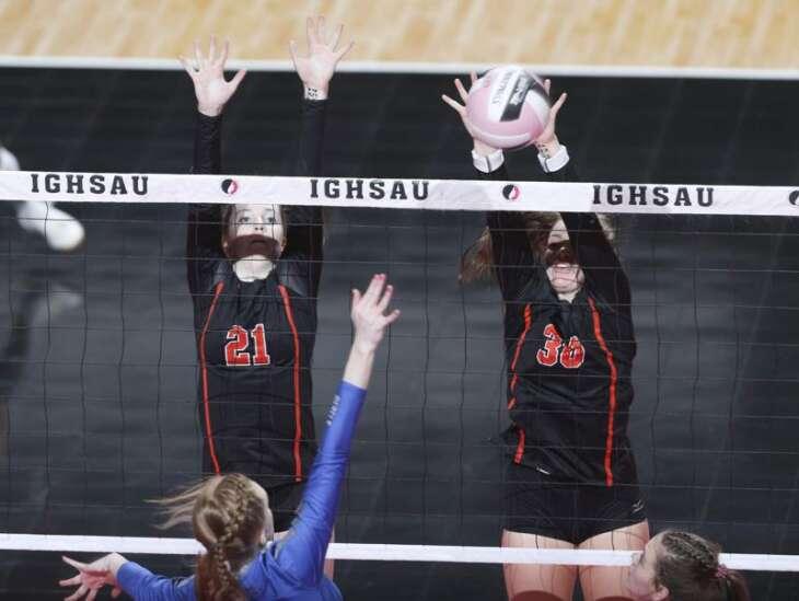 Photos: Gladbrook-Reinbeck vs. Springville, Iowa Class 1A state volleyball tournament quarterfinals
