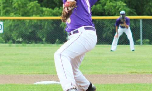 Keota's Clarahan gets all outs in baseball win