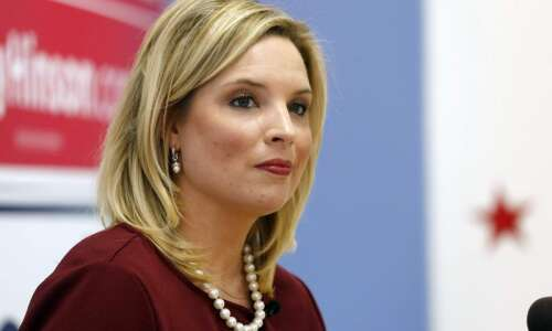 U.S. Rep. Ashley Hinson negative on Dems' election proposal