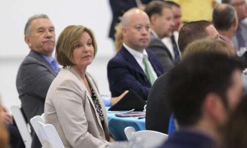 Liz Mathis kicks off Iowa Senate reelection campaign