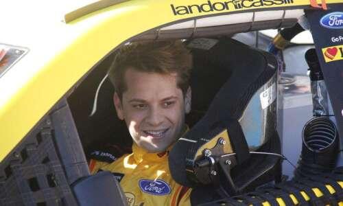 Landon Cassill still living his NASCAR dream