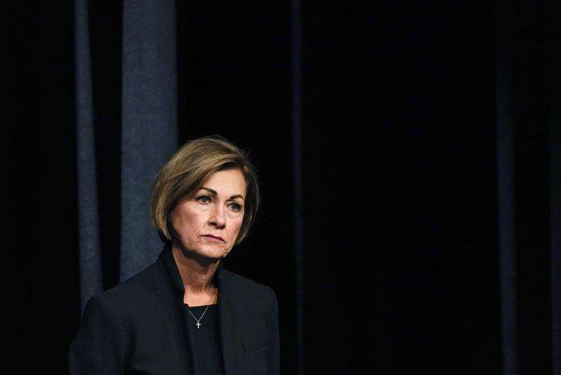 Iowa Gov. Kim Reynolds auctioned off her time for pork barons' charity