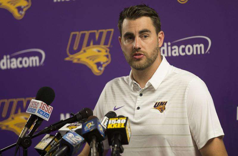 UNI running backs coach Nick Danielson working on improving Panthers' attack