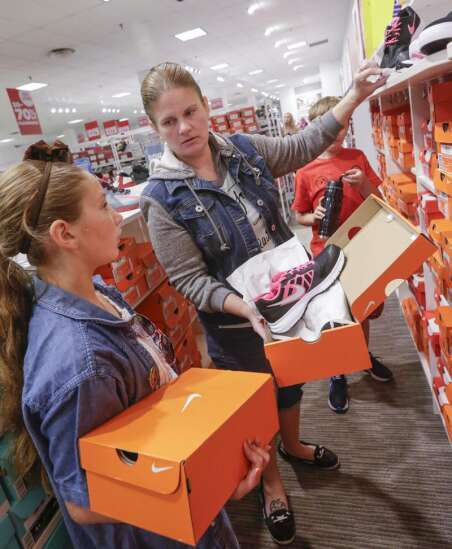 Iowa's sales tax holiday set for Aug. 7 and 8, allows for online purchases