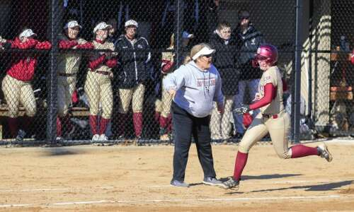 Coe softball powered by camaraderie and selfless play