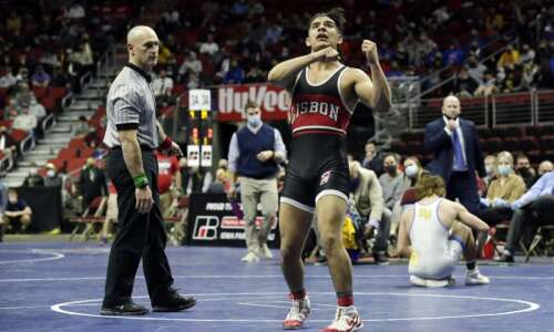 Lisbon crowns 3 state wrestling champions, including 3-timer Robert Avila…