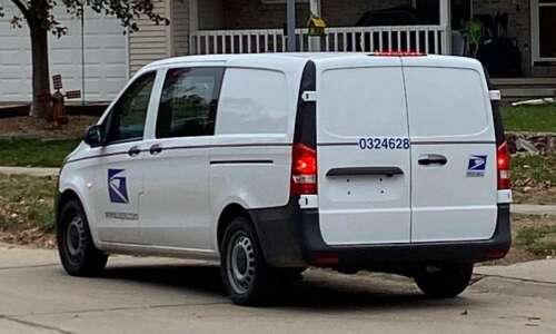Post office updating delivery fleet in Cedar Rapids