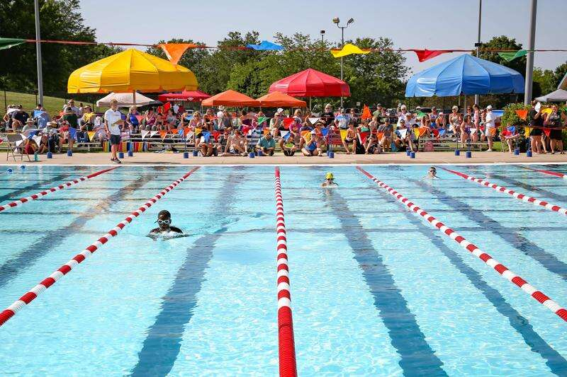 City swim meet is special to competitors
