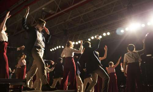 Pitch perfect: Students, volunteers work hard to stage Iowa show…