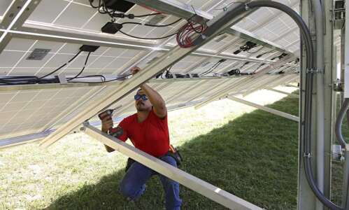 Adding solar panels to Linn County homes just got a…