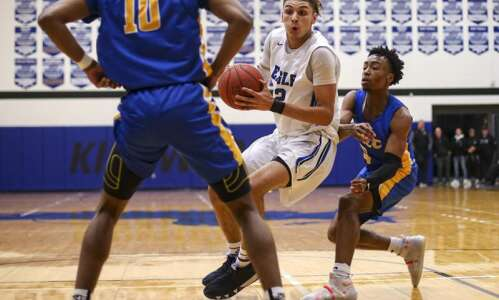 Kirkwood's Seybian Sims commits to play college basketball at North…