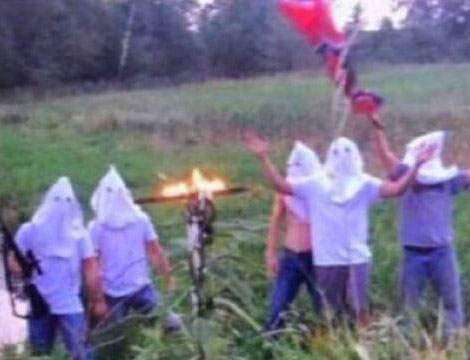 Creston High School administrators investigate photo involving students wearing KKK hoods
