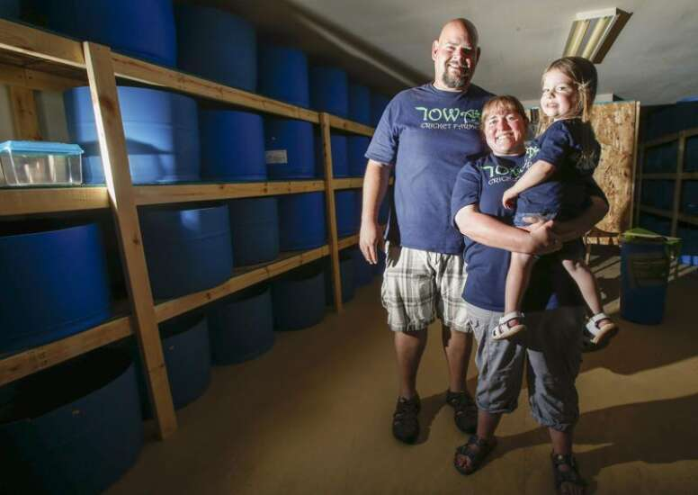 A different crunch: Benton County couple launches state's first cricket farm