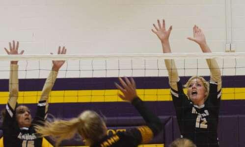 Mid-Prairie volleyball ends regular season