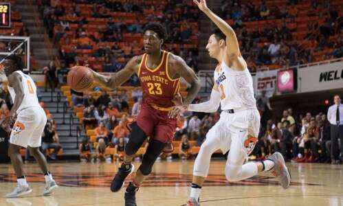 Iowa State men's basketball hopes expanded bench leads to win…