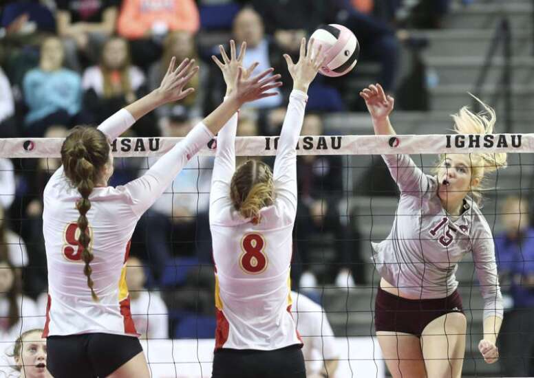 Mount Vernon isn't resting on last year's state volleyball championship run