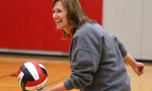 For Linn-Mar volleyball coach Teresa Bair, milestone 'reminded me how…