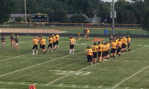 Lone Tree handles Central City in 8-player football debut