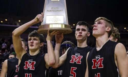Photos: Monticello vs. Pella, Iowa Class 3A boys state basketball…