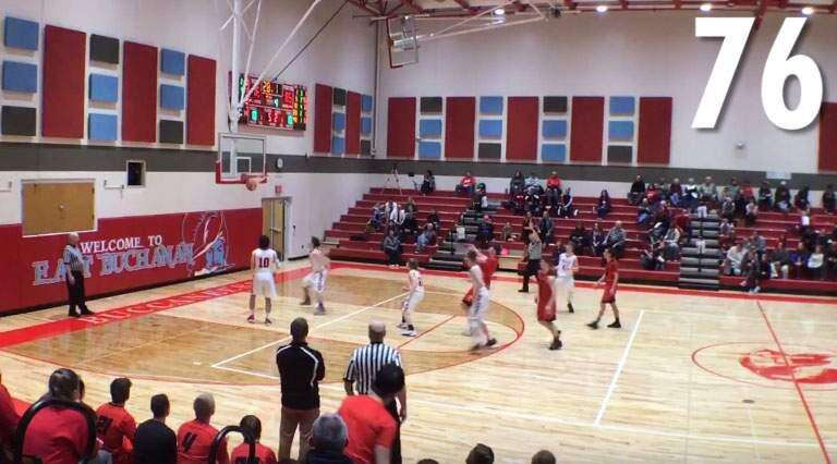 Video: All 76 points Central City's Nick Reid scored in a single game